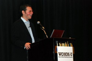 Joseph Jaffe of JaffeJuice.com Gives a Keynote at WOMM-U, a WOMM event put on by WOMMA