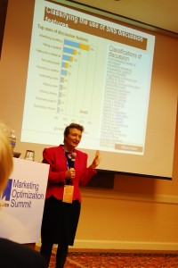 Katie Pain talks about social media & PR at eMetrics
