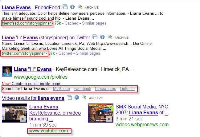 google-liana-evans